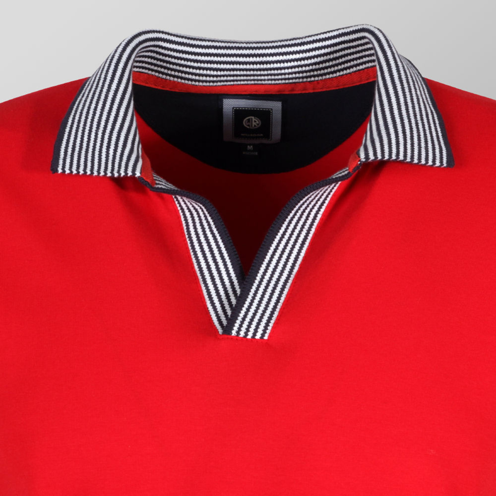 Mens polo shirt Willsoor (size to 5XL) 9400