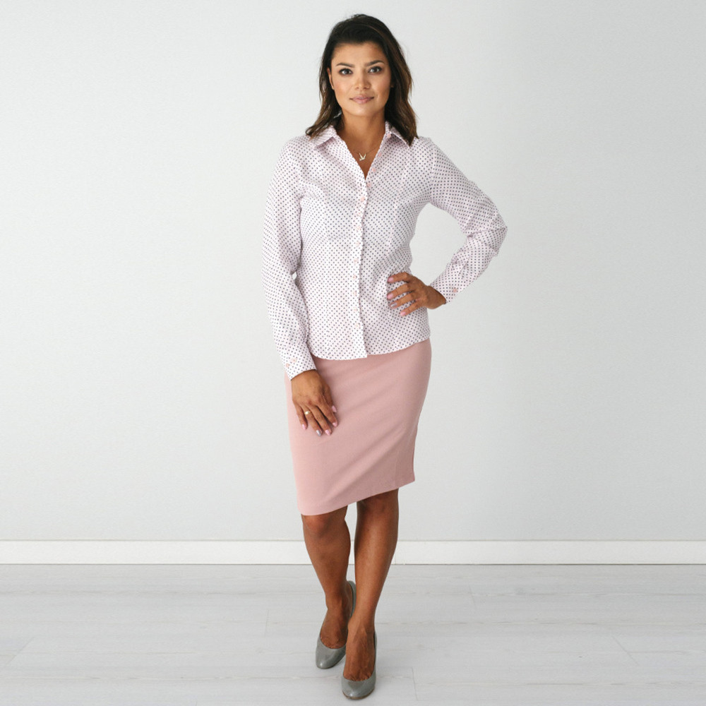 Women's light pink shirt  9573