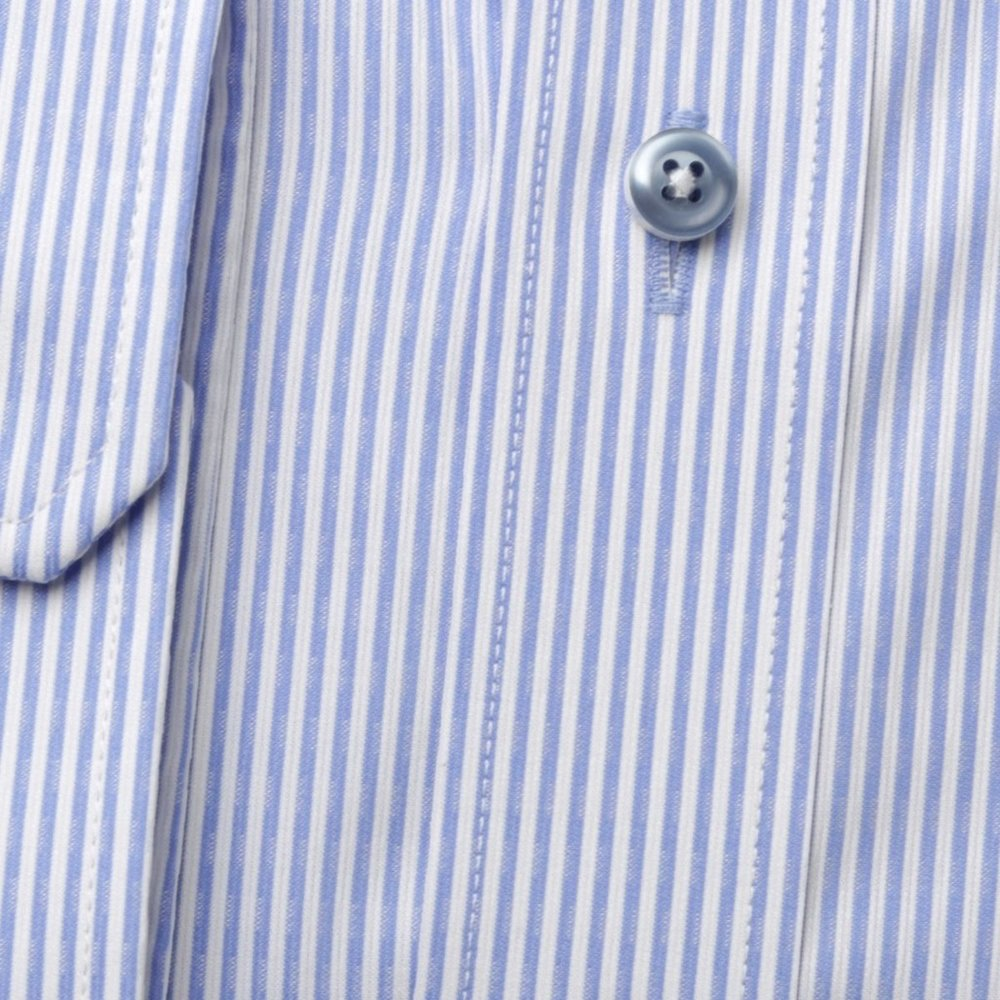 Men's slim fit shirt with fine strip (height 176-182)  9597