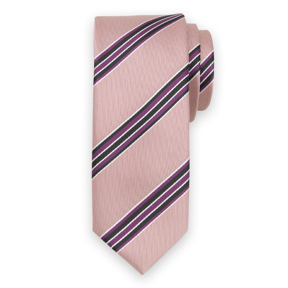 SLIM (narrow) striped tie 9689