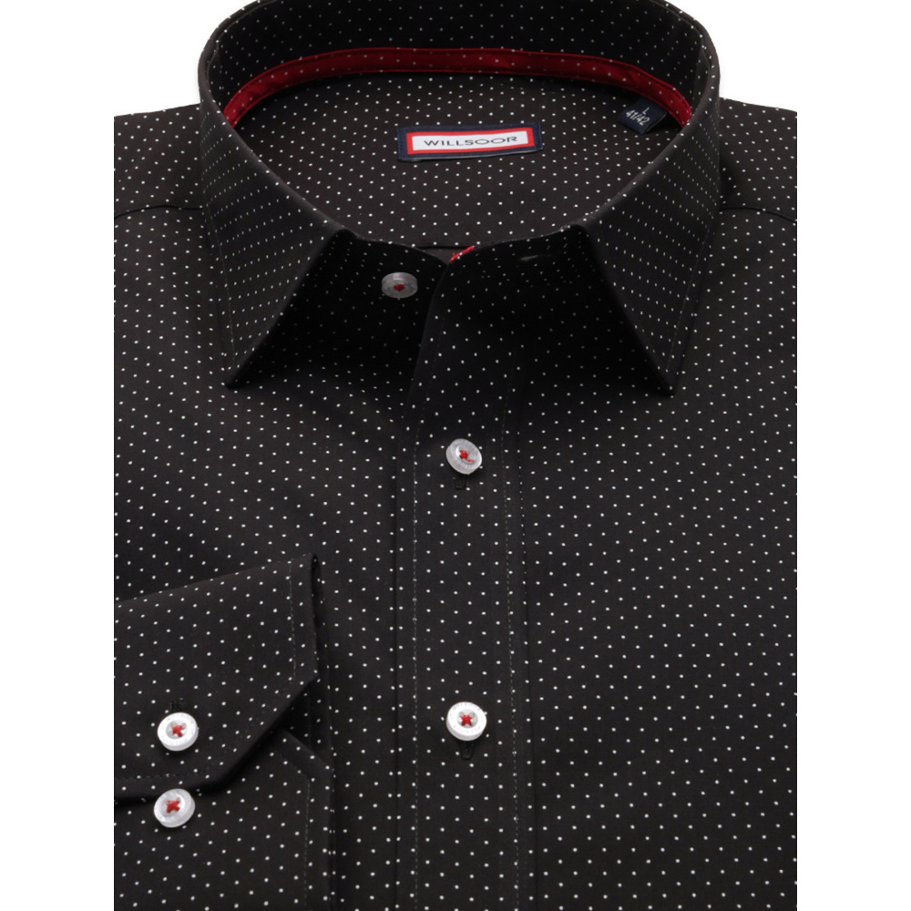 Black slim fit shirt  (height 164-170) 9708