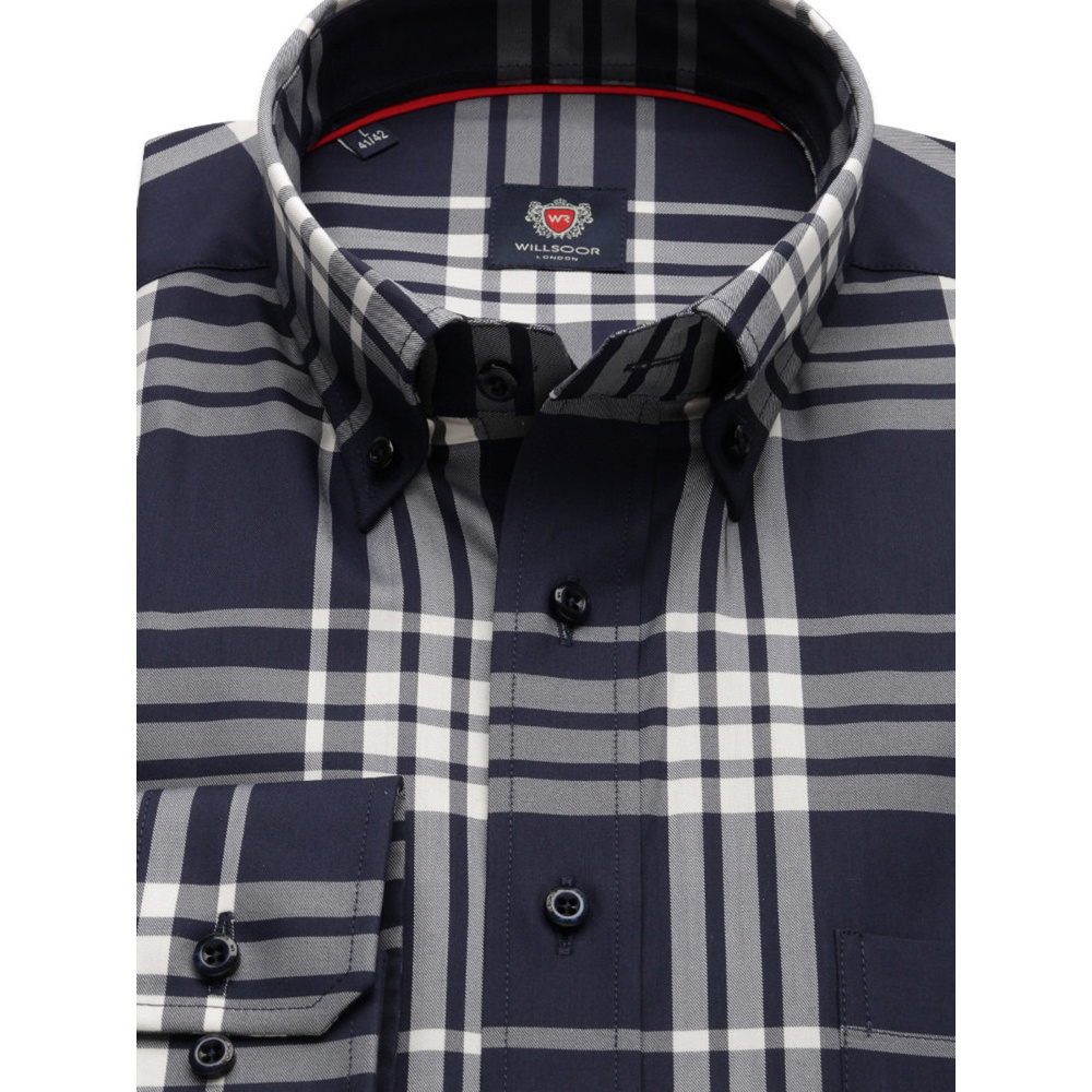 London shirt with check pattern (all size) 9727