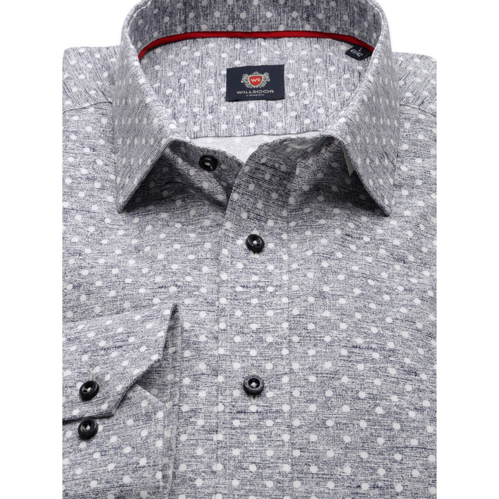 London shirt with dots (height 164-170) 9826