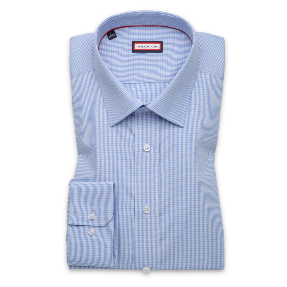 Light blue slim fit shirt (height 176-182) 9876