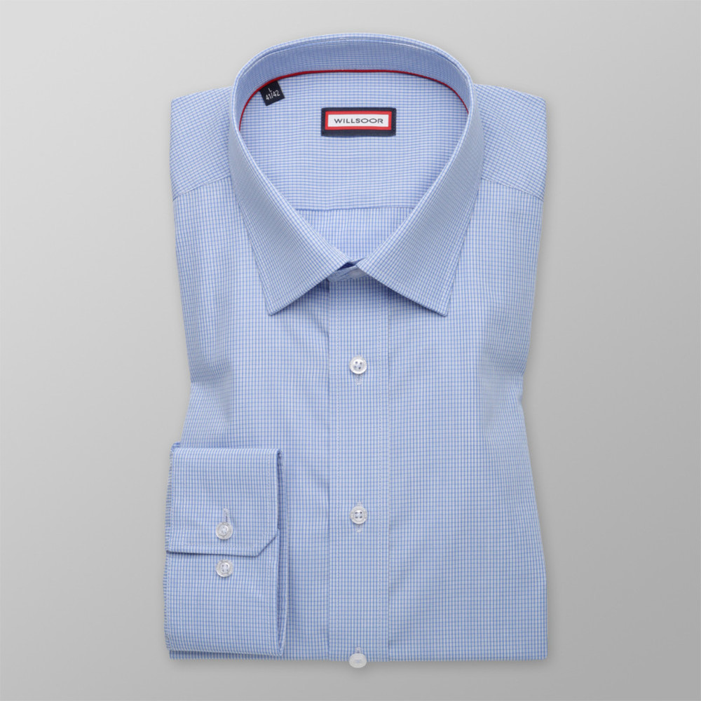 73ef3e847a Light blue slim fit shirt (height 176-182) 9876 - willsoor.eu