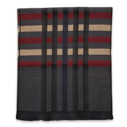 Men's woolen scarf with  10010, Willsoor