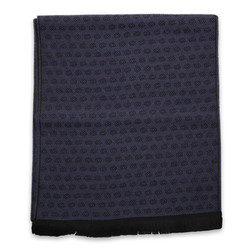 Men's woolen scarf dark blue 10014, Willsoor