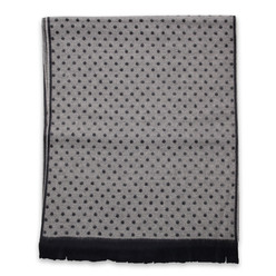 Men's woolen scarf with dotted pattern 10017, Willsoor
