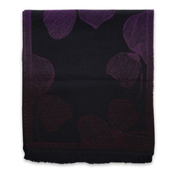 Woolen scarf with floral pattern 10022, Willsoor