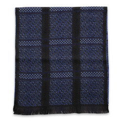 Patterned woolen scarf  10023, Willsoor