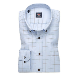 London shirt with check pattern (height 176-182) 10041, Willsoor