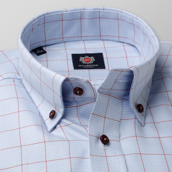 London shirt with check pattern (height 176-182) 10043, Willsoor