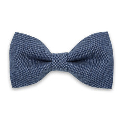 Men's pre-tied bow tie in blue shades 10056, Willsoor