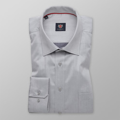 London shirt in light grey (height 176-182) 10081
