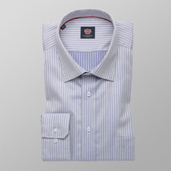 London shirt with herringbone pattern (height 176-182) 10086
