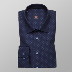 Shirts London with spotted pattern (height 176-182) 10087