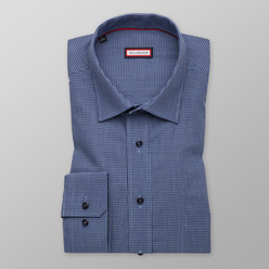 Classic shirt with check pattern (height 176-182) 10090