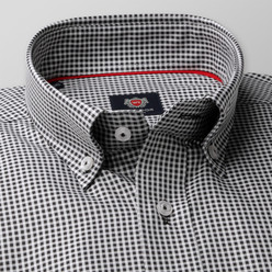 London shirt with checkered pattern (height 176-182) 10108