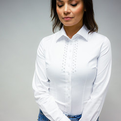 Women's shirt with decoration 10117