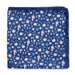 Silk scarf with floral pattern 10151, Willsoor