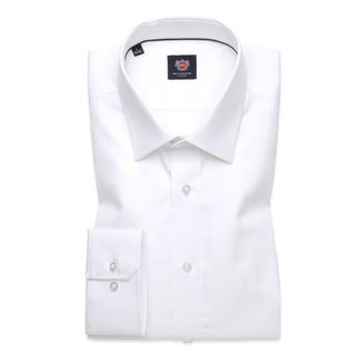 London shirt in white (height 188-194) 10171, Willsoor
