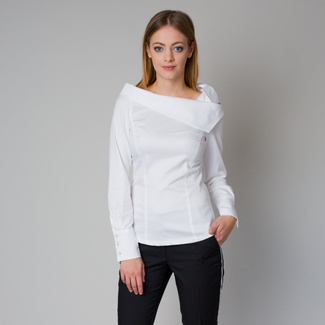 Women's shirt with a bow Willsoor  10198