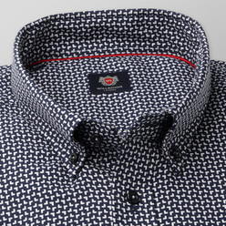 London shirt with white pattern (height 176-182 and 188-194) 10210, Willsoor