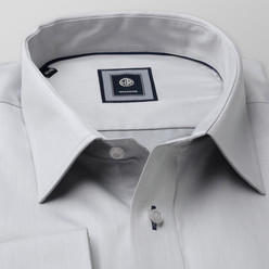 London shirt in light grey (height 176-182) 10213