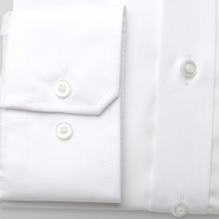 London shirt in white with smooth pattern (height 176-182 and 188-194) 10216, Willsoor