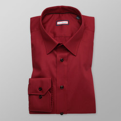 Slim Fit shirt in claret (height 176-182) 10219
