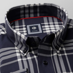 London shirt with tartan pattern (height 176-182 a 188-194) 10221, Willsoor