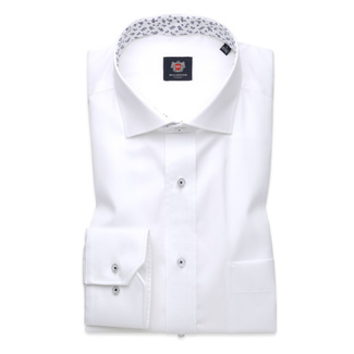 London shirt in white (height 176-182 and 188-194) 10235, Willsoor