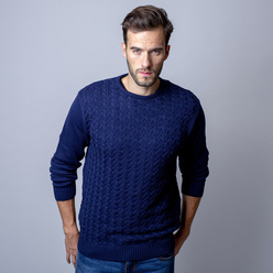 Men's sweater Willsoor fine pattern 10246