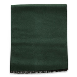 Green scarf with smooth pattern 10251, Willsoor