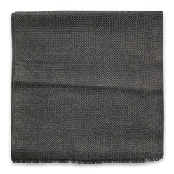 Graphite scarf with herringbone pattern 10252, Willsoor