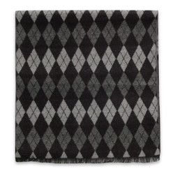 Scarf with check pattern 10255, Willsoor