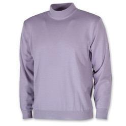 Men's purple turtleneck sweater 10272