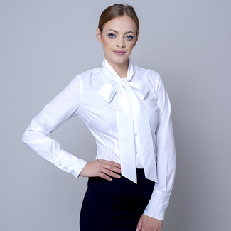 Women's shirt with a bow 10282