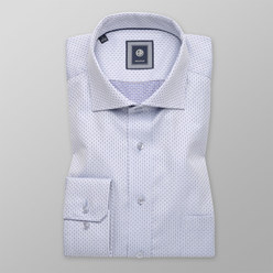 Slim Fit shirt with fine pattern (height 188-194) 10296, Willsoor