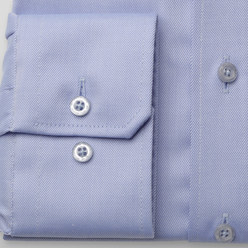 London shirt in pale blue (height 198-204) 10300, Willsoor