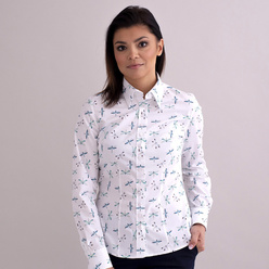 Women's shirt with dragonflies print 10347, Willsoor