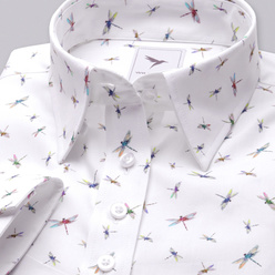 Women's shirt with colorful dragonflies print 10348, Willsoor