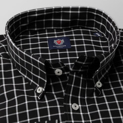 London shirt with checked pattern (height 188-194) 10362, Willsoor