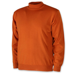 Men's turtleneck sweater in orange 10370