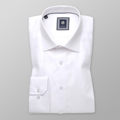 London shirt in white with fine pattern (height 176-182) 10394