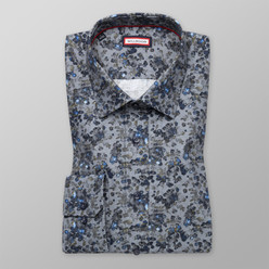 Slim Fit printed shirt (height 176-182) 10396
