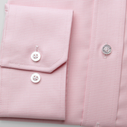 London shirt with pink checkered pattern (height 176-182) 10468, Willsoor
