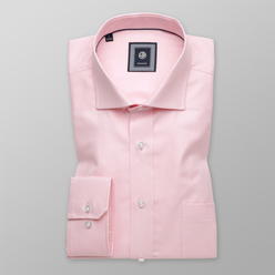 London shirt with pink checkered pattern (height 176-182) 10468