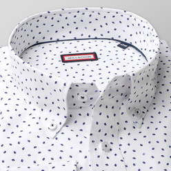 Classic shirt with  drops print (height 176-182 a 188-194) 10475