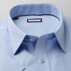 Classic shirt with smooth pattern (height 176-182) 10496
